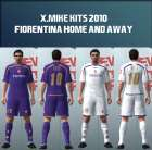 Fiorentina Home & Away kits by x.Mike