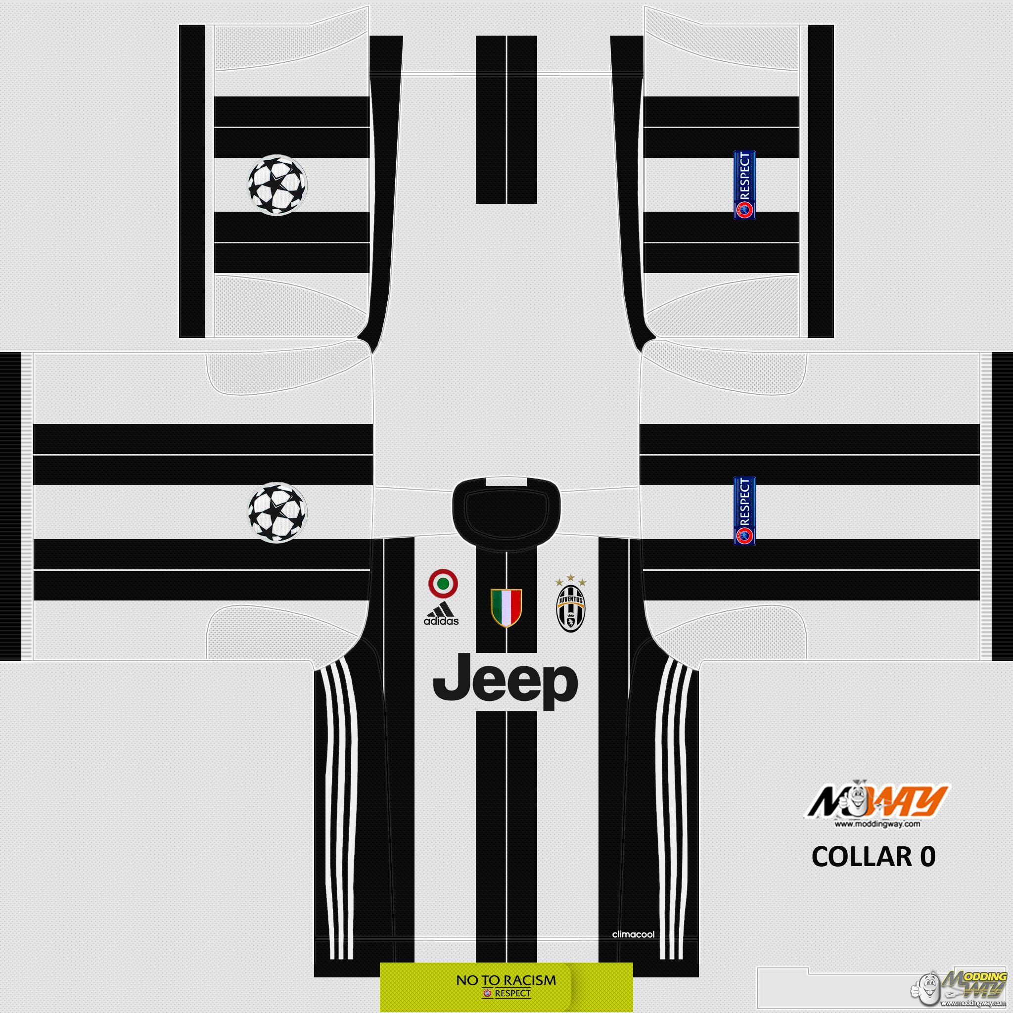 Fifa 14 Hungary Home: FC Juventus Home 16-17 Official