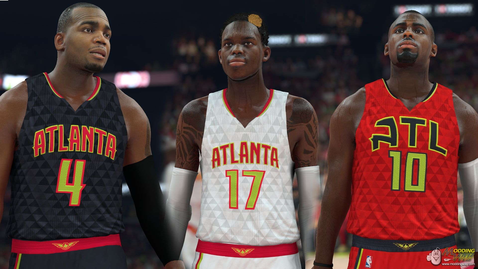 The Atlanta Hawks are also truly gifted in rebounding in NBA 2K15. 9 of the Atlanta  Hawks players have a C or above rating on rebounding.