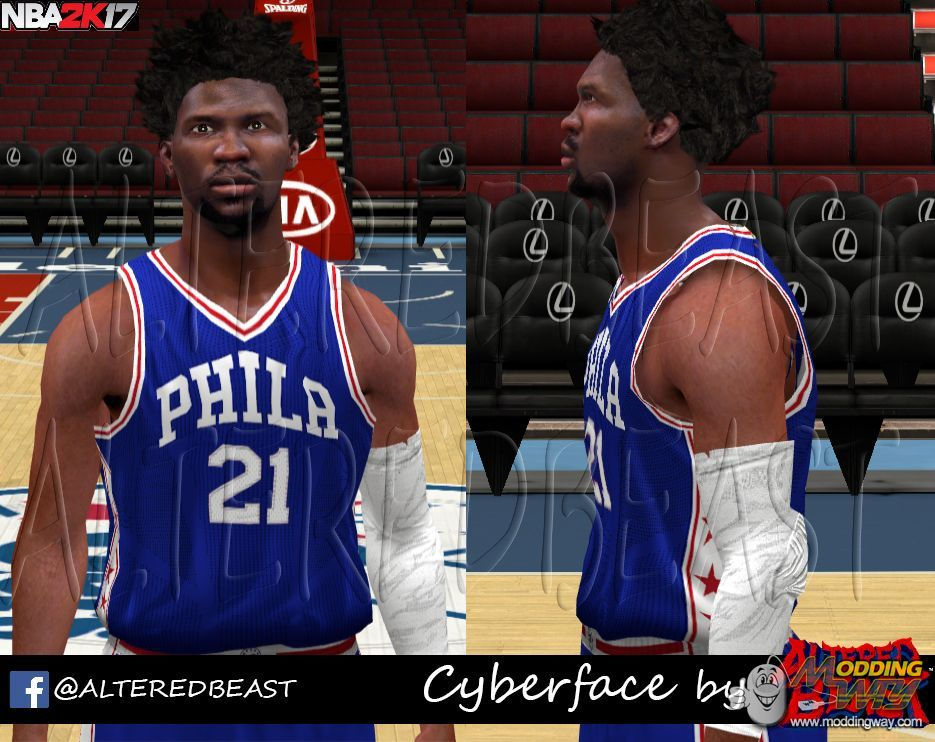 Joel Embiid 2k17 Version by AlteredBeast - NBA 2K14 at ...