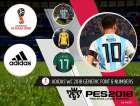 PES 2018 Adidas WC 2018 Generic Font & Numbers by rkh257