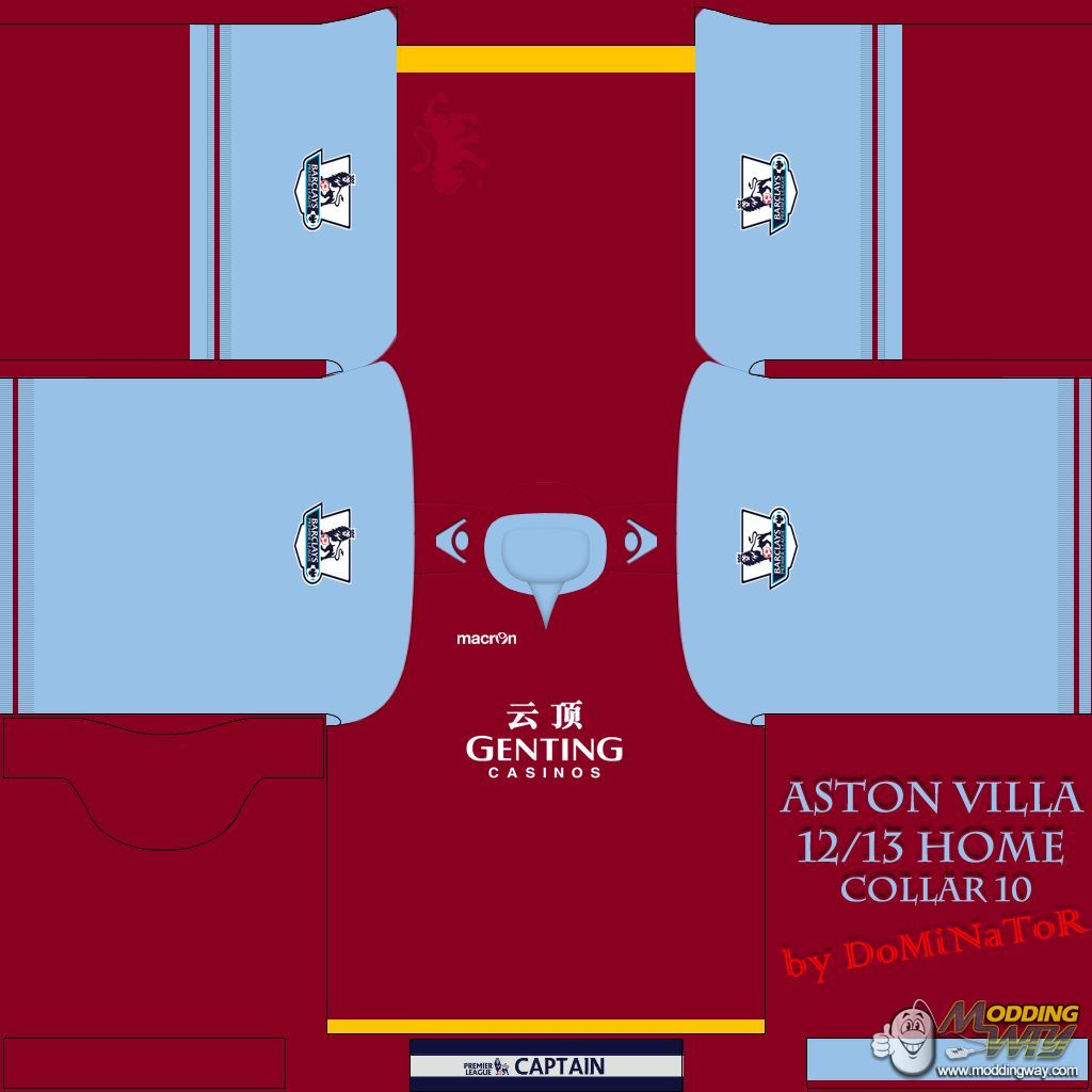 fifa 12 kits aston villa 12 13 home kit fifa 12 download it