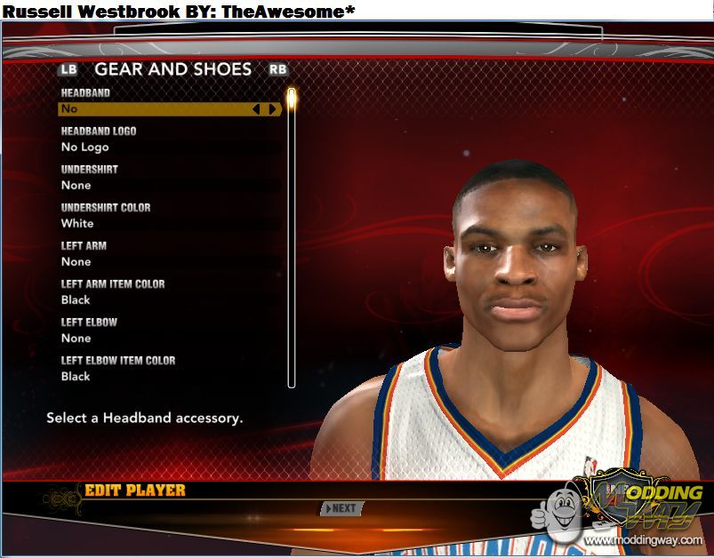 how to make russell westbrook in nba 2k14