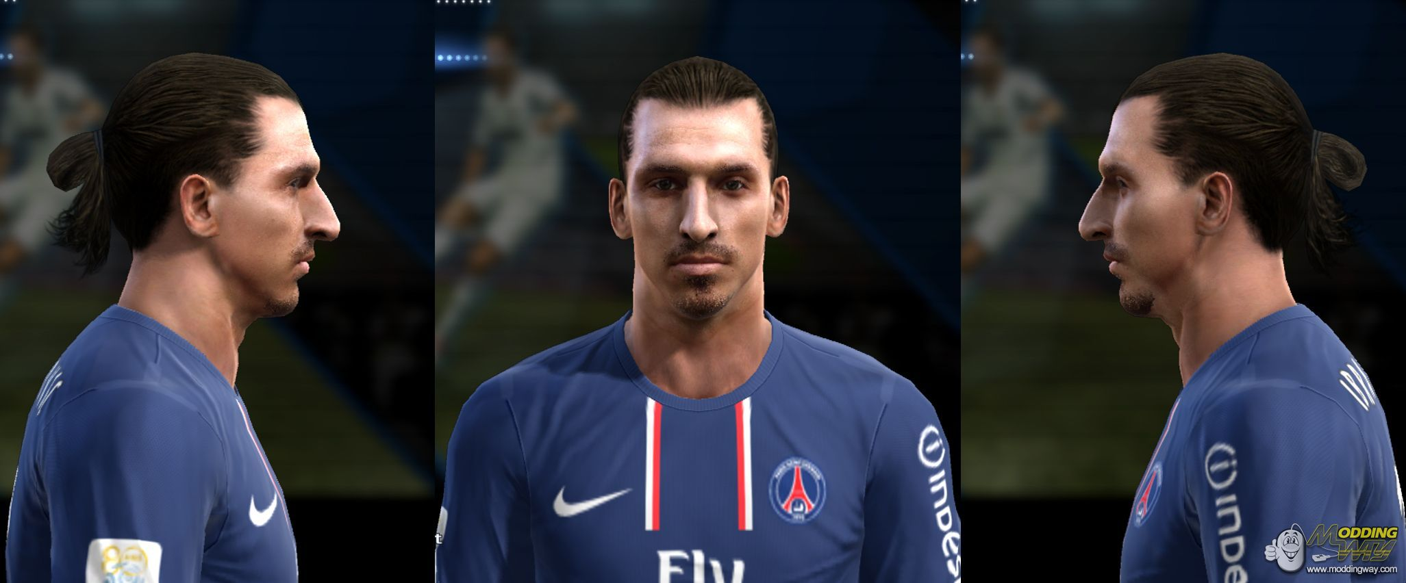 pro evolution soccer 2013 faces ibrahimovic hd face by forzamilan pro