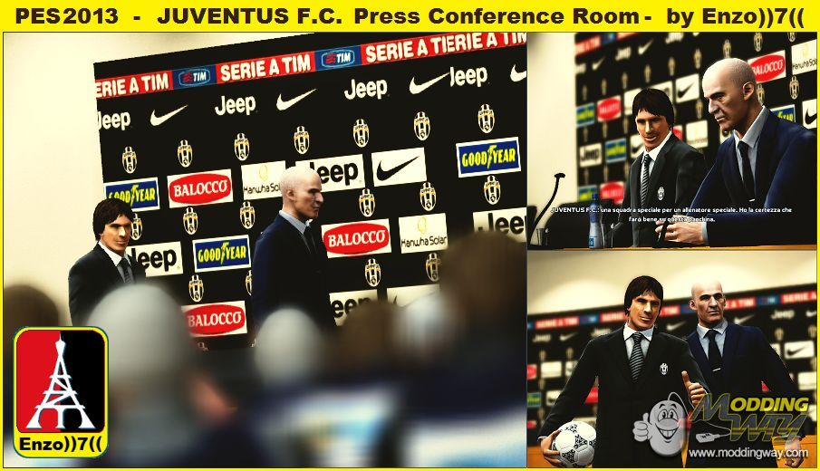 PES2013 - Juventus F.C. Press Conference Room - by Enzo))7 ...