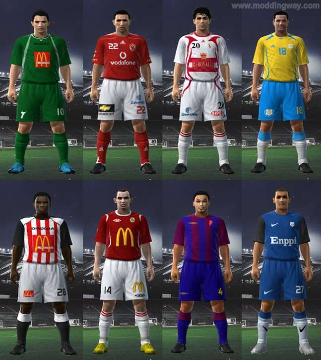 Pes 2010 Demo: Egyptian League 09/10 (Full GDB)