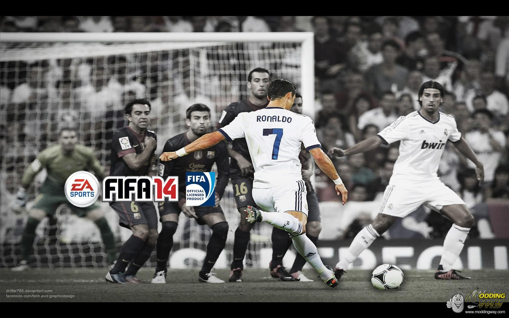Real Madrid Fifa 14 Wallpaper Download it