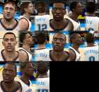 Oklahoma Thunder Cyber Faces Pack