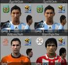 World CUp Faces Pack by Yury
