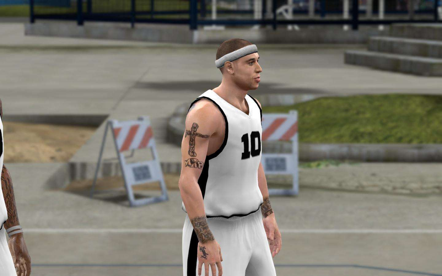 Mike Bibby Cyber Face and Tattoo Update NBA 2K10