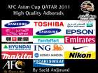 AFC Asian Cup 2011 Real Adbords