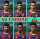 Barcelona young Faces Pack