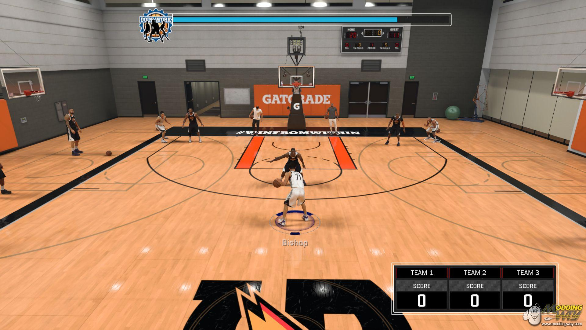 how to use my player 2k17 nba in play now