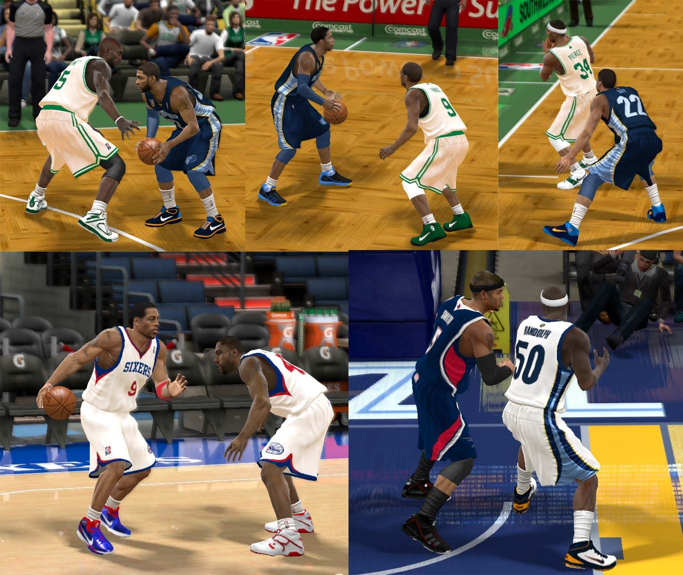 NBA 2K11 Real Shoes Mod Released